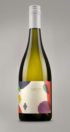 Lansdowne Vineyard label – beautiful colours! #wine #label #design