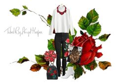 """Roses Style 16"" by fashionbarcaa on Polyvore featuring Mode und Sole Society"