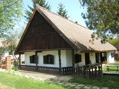 Vernacular Architecture, Traditional House, Hungary, Countryside, Farmhouse, Cottage, Exterior, House Design, Cabin