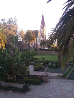 Windhoek, Namibia - Sept. 2009 Love this place!