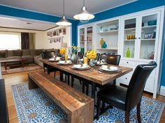 Love this dining room from HGTV's The High Low Project?  Make it yours!  We've made our favorite photos shoppable...just browse & click to buy -->  http://hg.tv/sr48