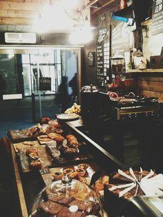 Mozzino Espresso Bar / London - Pasteries!
