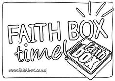 Colouring Contest - prizes in June! Kids put this poster over TV or up on wall once a week to make sure family time happens! Check it out on www.faithbox.co.nz