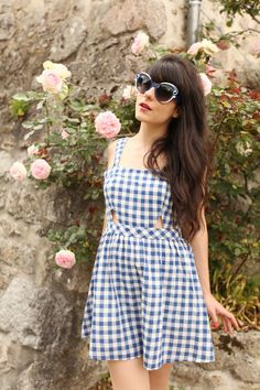 DAHLIA Dress & Prada Sunglasses
