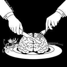 Fear Eats the Soul #hennkim #henn #art #illustration #drawing #sketch #black #white #pen #inspire #creative #pintable