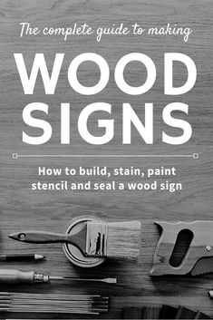 How to Build and Paint a Wood Sign – Creative Ramblings Learn how to make wood signs start to finish. How to build a pallet sign, how to stain or paint a sign, tips and tricks for stenciling a wood sign. Plus how and when to seal a wood sign. Stencils For Wood Signs, Stencil Wood, Wood Vinyl, Stencil Painting, Stenciling, Carved Wood Signs, Diy Wood Signs, Painted Wood Signs, Vinyl Signs