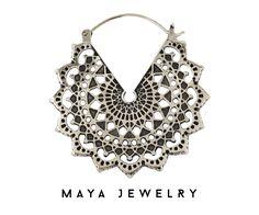 Maya Jewelry Majesty Black earrings