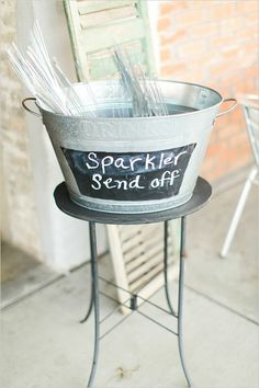 shabby chic country wedding sparkler send off display Shabby Chic Living Room, Shabby Chic Kitchen, Shabby Chic Homes, Shabby Chic Furniture, Shabby Chic Decor, Sparkler Send Off, Wedding Sparklers, Rustic Chic, Wedding Decorations
