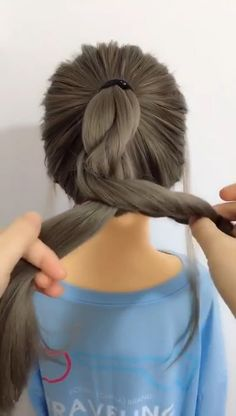 Easy Hairstyles DIY Coiffures is part of Easy Hairstyles Step By Step Diy Hair Dos Hair Styles - Creative Ways to Ponytails Little Girl Hairstyles, Pretty Hairstyles, Braided Hairstyles, Hairstyles For Girls Easy, Simple Hairstyles, Creative Hairstyles, Hair Videos, Hair Hacks, Hairstyle Hacks