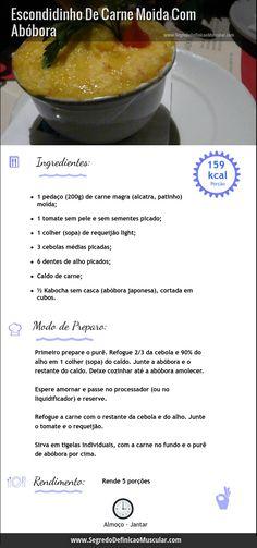 Escondidinho De Carne Moída  ➡ http://www.segredodefinicaomuscular.com/receitas-saudaveis-escondidinho-de-carne-moida-com-abobora  #receita #recipe #segredodefinicaomuscular
