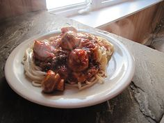 Organic Kamut Spaghetti & Mushroom Balls