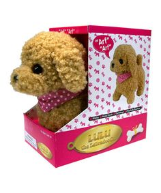 Take a look at this Lulu the Labradoodle by Westminster on #zulily today! $9 !!