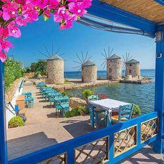 Chìos, Greece. By ALTUG GALIP (@kyrenian) on Instagram.