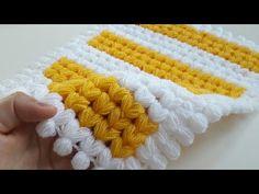 Filet Crochet, Crochet Hats, Baby Knitting Patterns, Yarn Crafts, 3 D, Projects To Try, Blanket, Youtube, Crochet Carpet