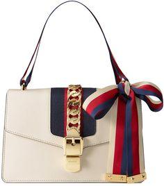 9adca144bf8 Gucci Sylvie leather shoulder bag