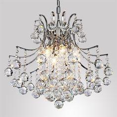 Achetez Lustre en cristal moderne avec 6 lampes avec le Meilleur Prix et le Meilleur Service!