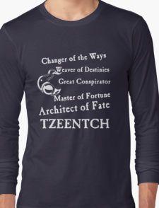 Tzeentch, Architect of Fate Long Sleeve T-Shirt