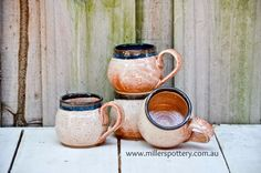 Australian handmade ceramic mugs by www.millerspottery.com