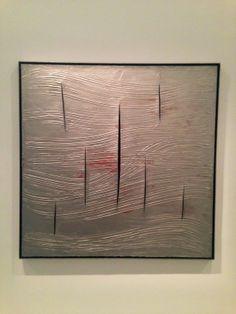 Lucio Fontana, Musée d'Art Moderne - Paris, Juin 14