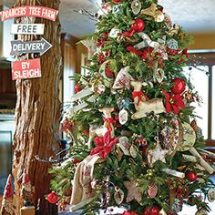 Prancer's Tree Farm Christmas Tree Theme