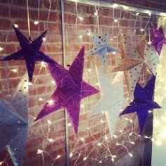 Seeing stars? Beautiful wedding decor!