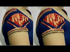 ब्यूटीफुल puff/ ruffle style स्लीव डिजाईन ll very easy making Blouse Designs Catalogue, Kids Blouse Designs, Simple Blouse Designs, Stylish Blouse Design, Blouse Neck Designs, Hand Designs, Kurti Sleeves Design, Sleeves Designs For Dresses, Aya Couture