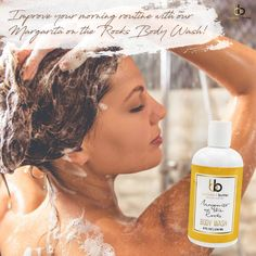 Margarita Rocks Body Wash - You work hard and play hard. You've got a full day ahead, but you don't need loud beeping alarms and aggressive soapy Margarita On The Rocks, Open Your Eyes, Body Wash, Mornings, Fragrances, Skincare, Tea, Shower, Link