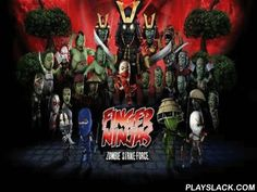 Finger Ninjas Zombie Strike-Force  Android Game - playslack.com , Finger Ninjas: Zombie Strike-Force is a futuristic act RPG in which you will have to cut undeads, get combo kills and unleash deadly shuriken to conquer the ambushing  zombie nemesis. Shinji needs your assist. So move carnivorous multitudes back to their writers! Look for bonuses and hidden components at each stage and get the chromatic coinages for zombie kill. You can disburse the chromatic coinages to purchase substance…