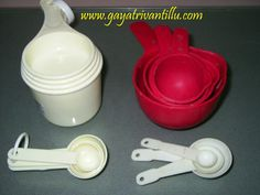 Kitchen Aids 2 - Exhaustive  text in English available on http://www.gayatrivantillu.com/recipes-2/miscellaneous/kitchen-aids
