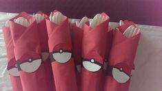 Pokemon Party Napkins Idea