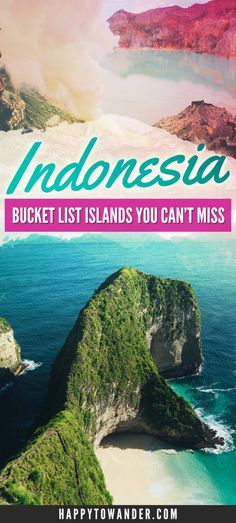 The best islands to visit in Indonesia besides Bali! A mix of well known and off-the-beaten path islands in Indonesia that are seriously like PARADISE! Don't miss this list if you plan on travelling around Southeast Asia.