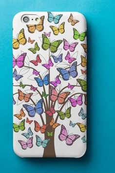 Spread your wings and fly ❤️🦋🦋🦋❤️Phone Case for iPhone or Samsung. #butterflycase #iphonecase #samsungcase #iphonecover #samsungcover Samsung Cases, Iphone Cases, Wings, Butterfly, Cover, Iphone Case, Feathers, Feather, Butterflies