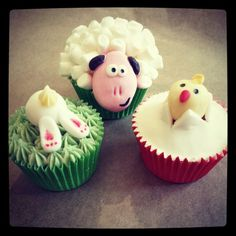 My easter cakes!