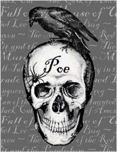 I love the stories by Mr. Edgar Allan Poe! ♥