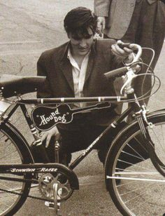 Elvis and his bike