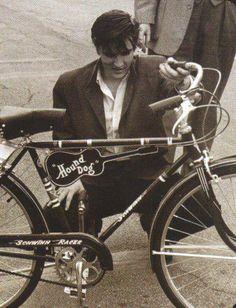 Elvis and his bike