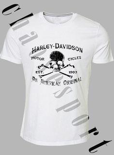 Harley Davidson motorbike bike themed Tshirt Band new Printed to order