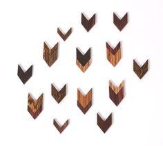 archer - chevron pendants
