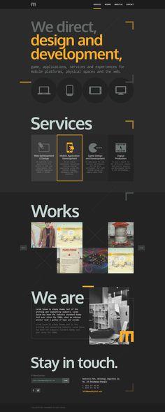 M Website | Interactive http://designspiration.net/image/9027281575769/