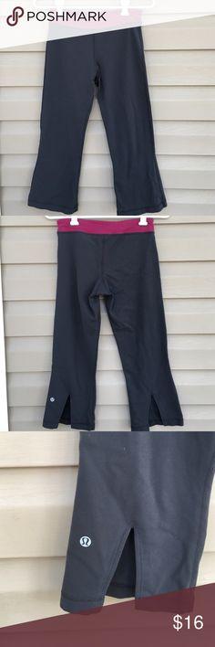 """Lululemon women's Capri pants Nice women's pants inseam 21"""". Some wear but no snags , stains or holes lululemon athletica Pants Capris"""