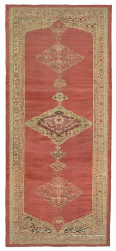 SULTANABAD, West Central Persian, 8ft 3in x 18ft 0in, 2nd Quarter, 19th Century.  Presenting a stately custom size that points to commissioned work done before foreign entrepreneurial influence, this piece is a phenomenon. Still remarkably preserved, it reflects the region's artistic prowess in creating sumptuous depth of color through intentional striation and the ability to produce exotic, naturally dyed, perfectly balanced color combinations.