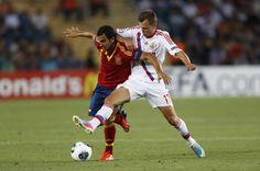 #Martín Montoya# #La Rojita# 2013-06-06 UEFA European U21 Championships, Group B match between Spain and Russia
