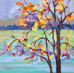 """November's Pause"" -- by Carolee Clark, American comtemporary artist"