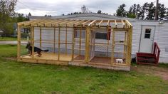 Fur kids dog kennel, roof coming soon.