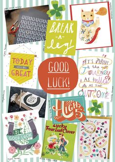 Day 30 - Good Luck http://giftedcompetition.tigerprint.uk.com/themes-2013/