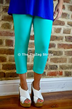 Seafoam Capri Skinnies – The ZigZag Stripe. Use coupon code ZZS72 to save 10%, and shipping is free! http://www.zigzagstripe.com?afmc=ZZS72