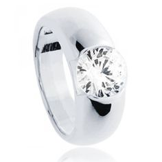 5655a4059b3a Solitaire ring silver Higher - Bijoux Paris Bijoux Argent, Bague Argent,  Bijoux Paris,