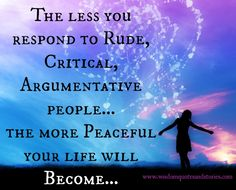 Avoid Rude, Critical & Argumentative people | Wisdom Quotes and Stories