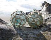 Japanese Glass Fishing Floats -