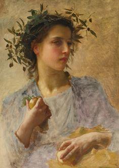 """""""L'été (Summer)"""", William-Adolphe Bouguereau."""